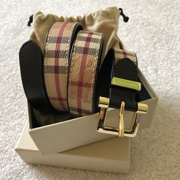 burberry belt womens